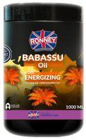 Ronney Babassu Oil Professional Mask Energizing Energetyzująca Maska Do Włosów Farbowanych 1000Ml