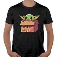 Koszulka BABY YODA mandalorian star wars jedi L