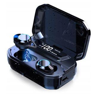 Słuchawki bezprzewodowe Bluetooth GO2 WODOODPORNE +PowerBank