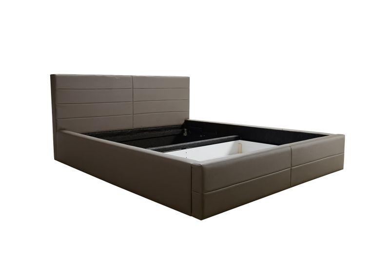 łóżko Tapicerowane Camo Stelaż Pojemnik 140x200