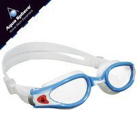 Okulary pływackie KAIMAN EXO SMALL  Kolor - Aqua Sphere - Kaiman EXO Small - EP118111 - jasnoniebieski / biały / jasne szkła