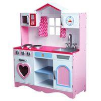 Drewniana Kuchnia Dla Dzieci TOLA - BARDZO DUŻA okazja cenowa