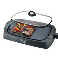 Grill elektryczny stołowy Adler AD 6610 3000W + pokrywka