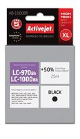 Tusz Activejet AB-1000BR (zamiennik Brother LC1000BK/970BK; Premium; 25 ml; czarny)