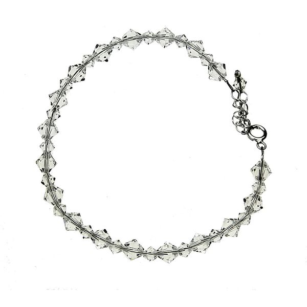 bransoletkasrebro elementy Swarovski® zdjęcie 1