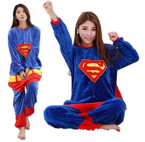 PIŻAMA KIGURUMI ONESIE KOMBINEZON SUPERMAN M zdjęcie 1