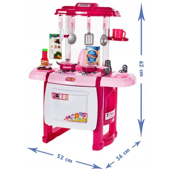 Kuchnia dla dzieci Piekarnik Zlew + Akcesoria Y162Z zdjęcie 5