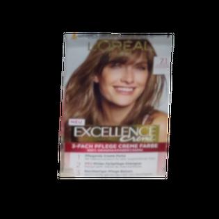 LOREAL Excellence farba średni popielaty blond 7.1 mittelaschblond