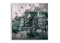 Zegar Ścienny - Samochód Retro  - 40X40 Cm - C3Ac40X40-3834