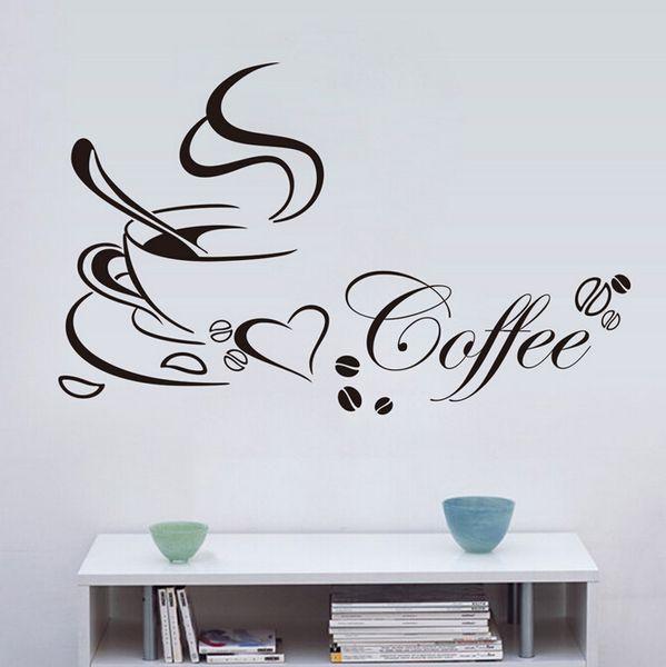 Naklejki Na ścianę ścienne Do Kuchni Kawa Filiżanka Ws 0179