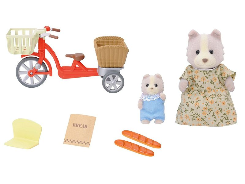 Sylvanian Families  Przejażdżka rowerowa z mamą 4281 zdjęcie 5