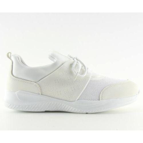 Ultra lekkie buty sportowe białe BY 069 r.40