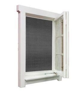 Moskitiera w ramie okno komary owady 1,3x1,5m swe