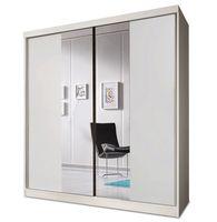 Szafa przesuwna BONO BIS 02 160 z lustrem + półki