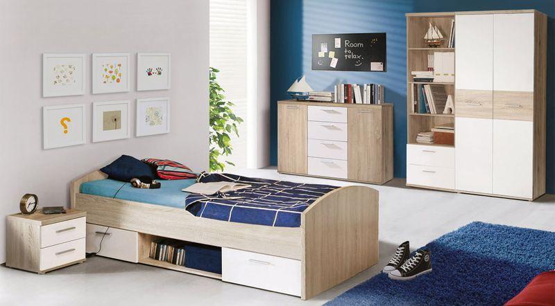 łóżko Młodzieżowe 90x200 Cm Winnie Wnl09 Forte Arenapl