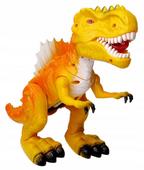 Duży DINOZAUR T-Rex RYCZY CHODZI ŚWIECI