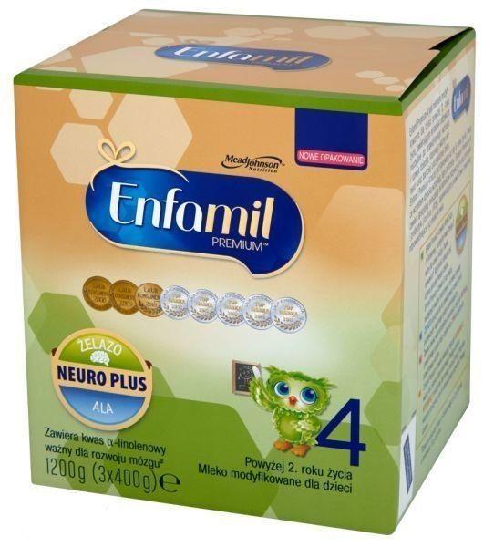 Mleko Enfamil 4 Premium, 1200g - Długi termin ważności! na Arena.pl