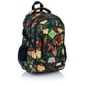 Plecak szkolny młodzieżowy Astra Head HD-113, w kwiaty