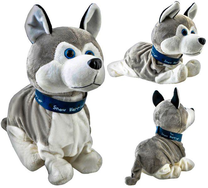 Piesek Interaktywny Pies Husky Reaguje na Dotyk 4477 zdjęcie 1