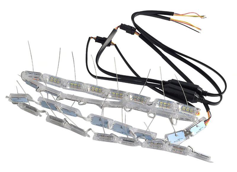 ŚWIATŁA DRL LED + płynący kierunkowskaz zdjęcie 6