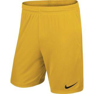 Spodenki męskie Nike Park II Knit Short NB żółte 725887 739 M