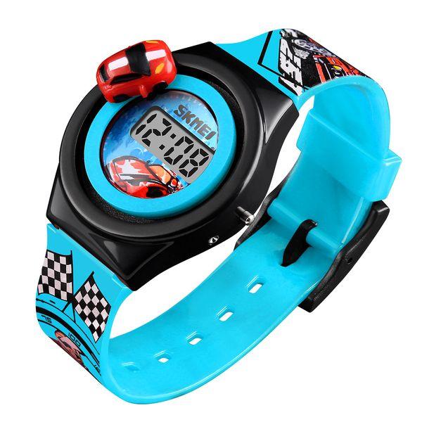 0f3ffd94a98cba Dziecięcy zegarek 5 kolorów AUTO elektroniczny na pasku super prezent  zdjęcie 8