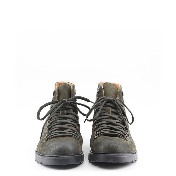 2aa1cf5e155fc Made in Italia skórzane buty męskie za kostkę sztyblety zielony 45 zdjęcie 6