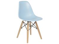 Krzesło NIEBIESKIE dziecięce nowoczesne inspirowane dsw dsr 071-1