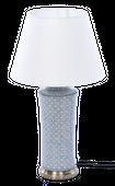 Lampa stołowa z abażurem Anabel 18x18x51cm zdjęcie 1