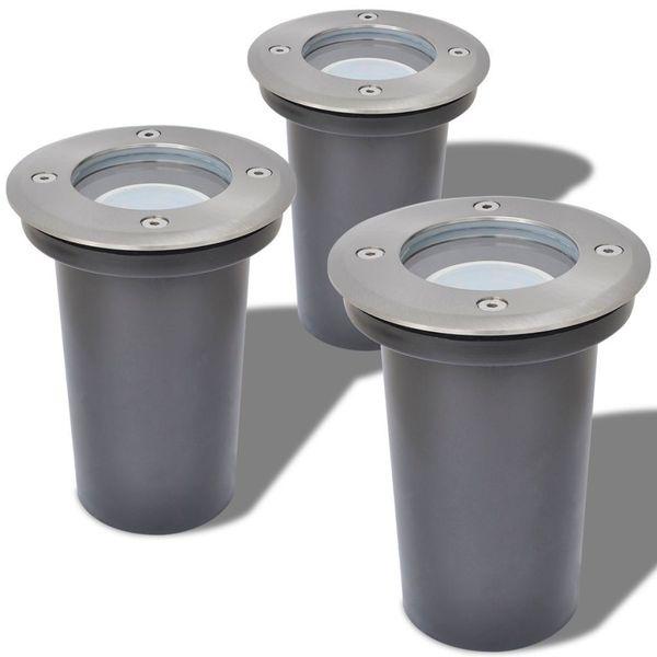 Lampy Najazdowe Led, 3 Szt., Okrągłe zdjęcie 3
