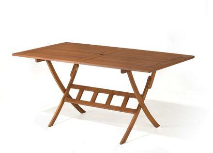 Drewniane meble ogrodowe stoły na taras stół drewniany Bradford 160