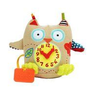 Zabawka Sensoryczna Mój Pierwszy Zegar Sówka 0M+ Dolce