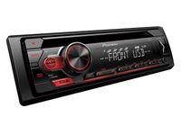 Radio samochodowe PIONEER DEH-S110UB CD+USB czerwone