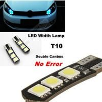 T10 W5W POSTOJÓWKA LED CANBUS CAN BUS 6 SMD 5050