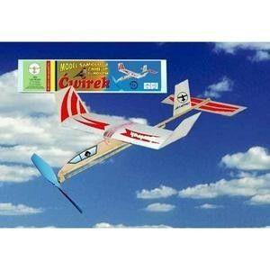 ĆWIREK - samolot z napędem gumowym