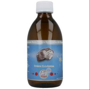 Niejonowe nano srebro koloidalne STRONG Ag 50ppm 300ml Vitacolloids