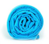 Ręcznik treningowy Dr.Bacty XL 70 x 140 cm niebieski