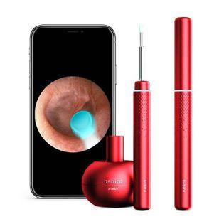 Otoskop Bebird M9 Pro do czyszczenia uszu, z kamerką (czerwony)