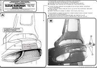 Kappa KR111 Stelaż centralny Suzuki An 250-400 Burgman (98 > 02)