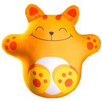 Relaksacyjna poduszka 3D na prezent - Magiczny kotek pomaranczowy