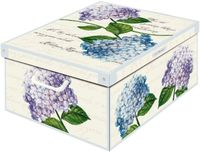 Pudełko dekoracyjne kartonowe MAXI HORTENSJE