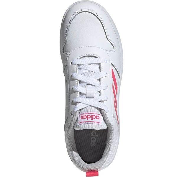 Buty dla dzieci adidas Tensaur K biało różowe EF1088 35