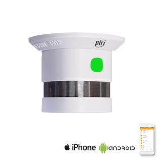 Czujnik dymu bezprzewodowy z syreną aplikacja android iOS