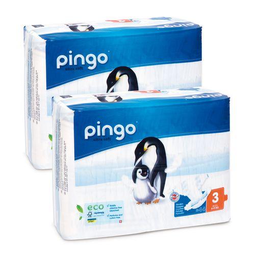 Pieluszki Pingo Ultra Soft 3 MIDI 88szt. (box 2x44) na Arena.pl