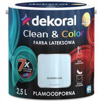Dekoral Clean & Color 2,5L SŁODKA ŁZA