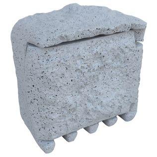 Przedłużacz Ogrodowy Imitacja kamienia 4 gniazdka szary 1150-1