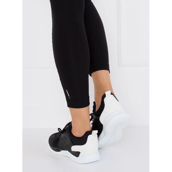 Ultra lekkie buty sportowe czarne BY-069 r.37 na Arena.pl