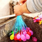 Magiczne Wodne Balony 111szt na wodę Bomby automat GRATIS