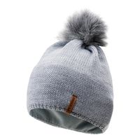 Damska czapka zimowa Elbrus Tinas Wo's szara rozmiar uniwersalny - LIGHT GREY MELANGE || Szary