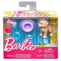 Barbie Akcesoria Zestaw z Pieskiem